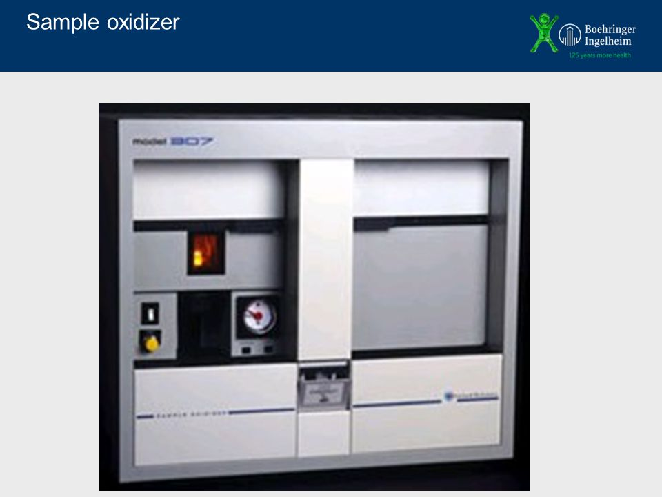 Sample oxidizer
