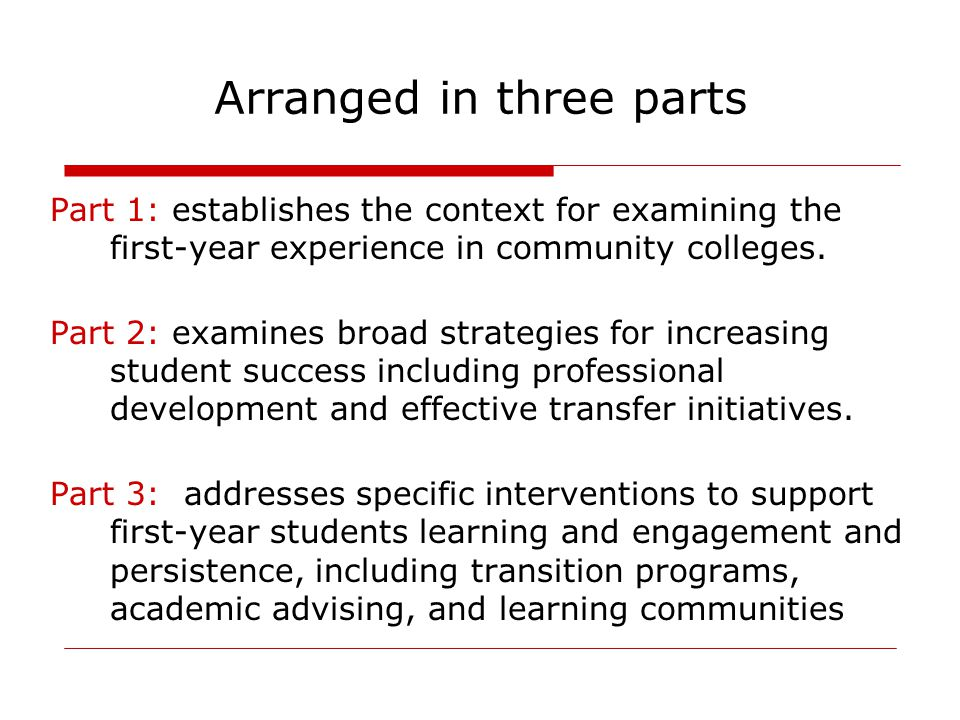 Chapter 1: The American Community College: From Access to Success Dr.