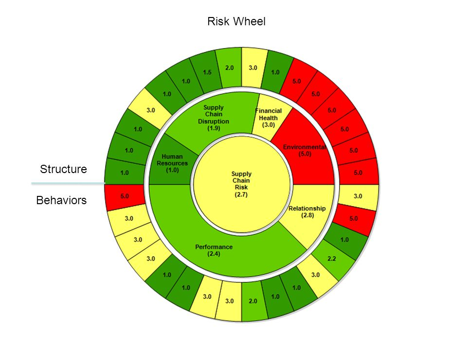 Risk Wheel Structure Behaviors