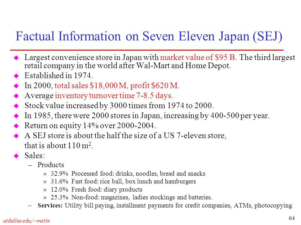seven eleven case study essay
