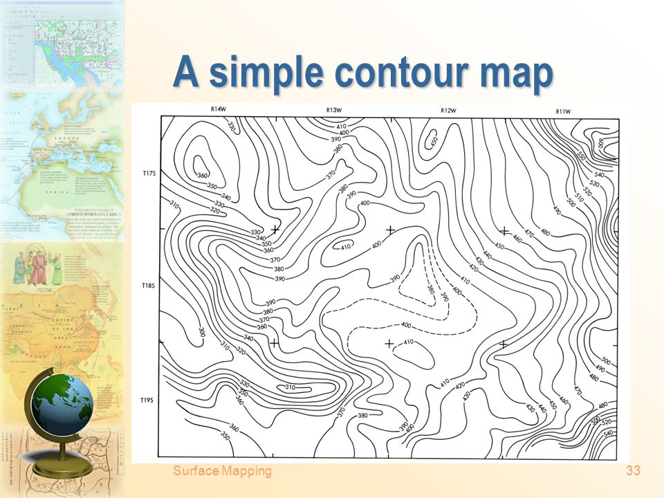Surface Mapping32 Contouring