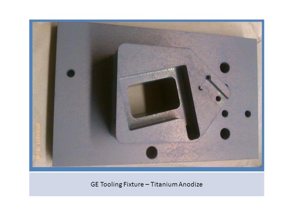 GE Tooling Fixture – Titanium Anodize