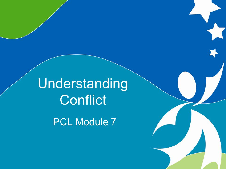 1 Understanding Conflict ©2008, University of Vermont and PACER Center Objectives Define various approaches to dealing with conflict Understand the uses, strengths and limitations of various approaches to conflict Reflect on personal strengths and challenges in relation to conflict, and the ways in which these can enhance or serve as a barrier to effective leadership and collaboration