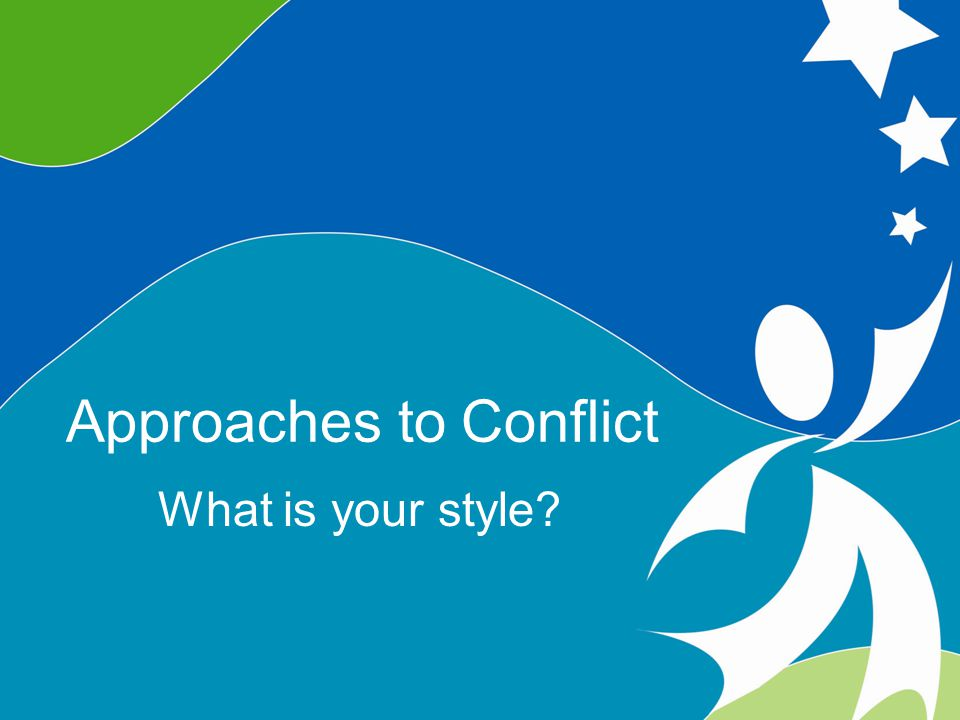 9 Understanding Conflict ©2008, University of Vermont and PACER Center Five Conflict Response Styles Avoiding Competing/Controlling Accommodating Compromising Collaborating