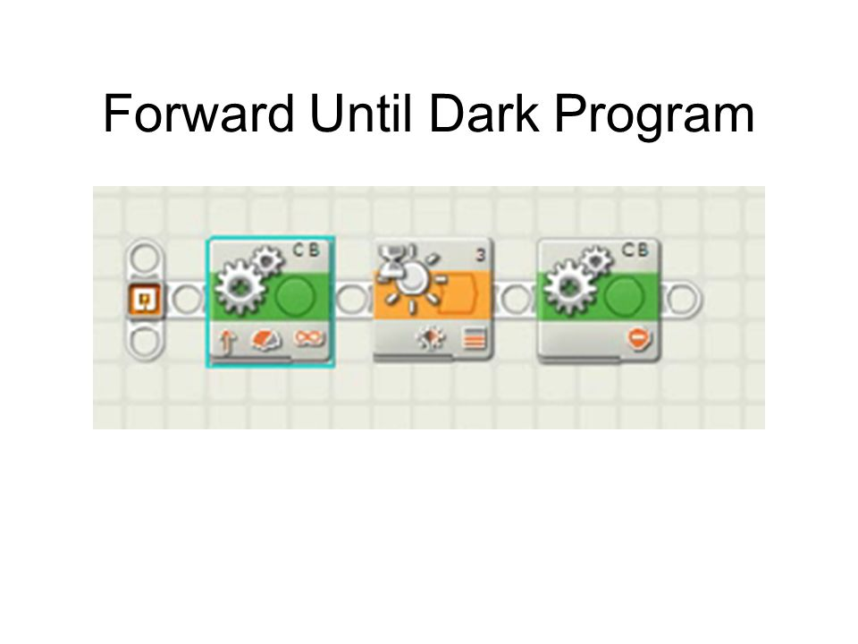 Forward Until Dark Program