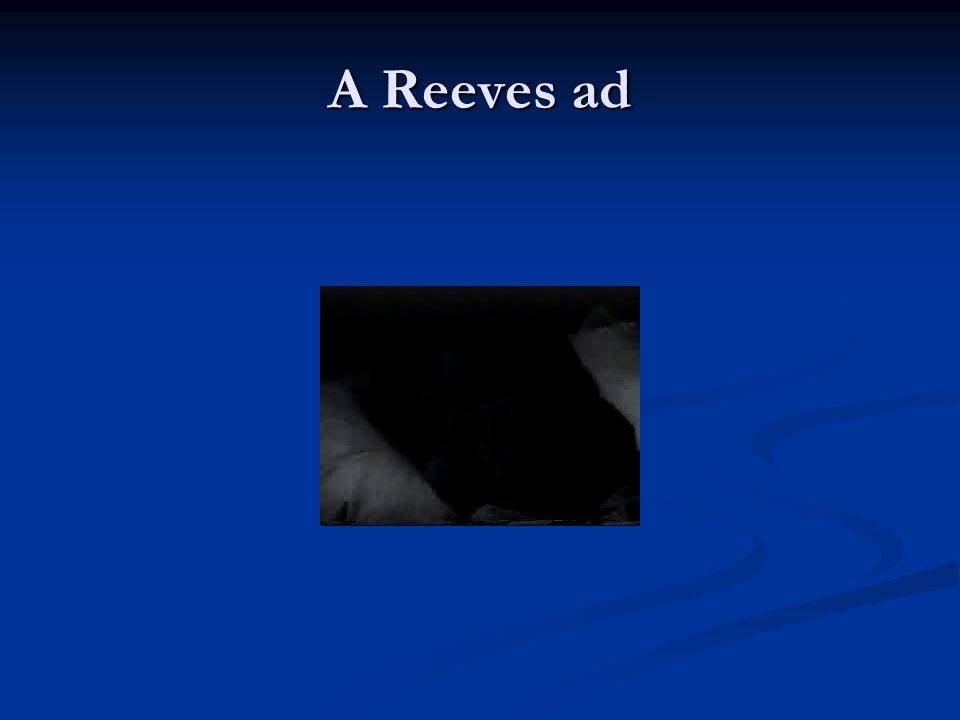 A Reeves ad