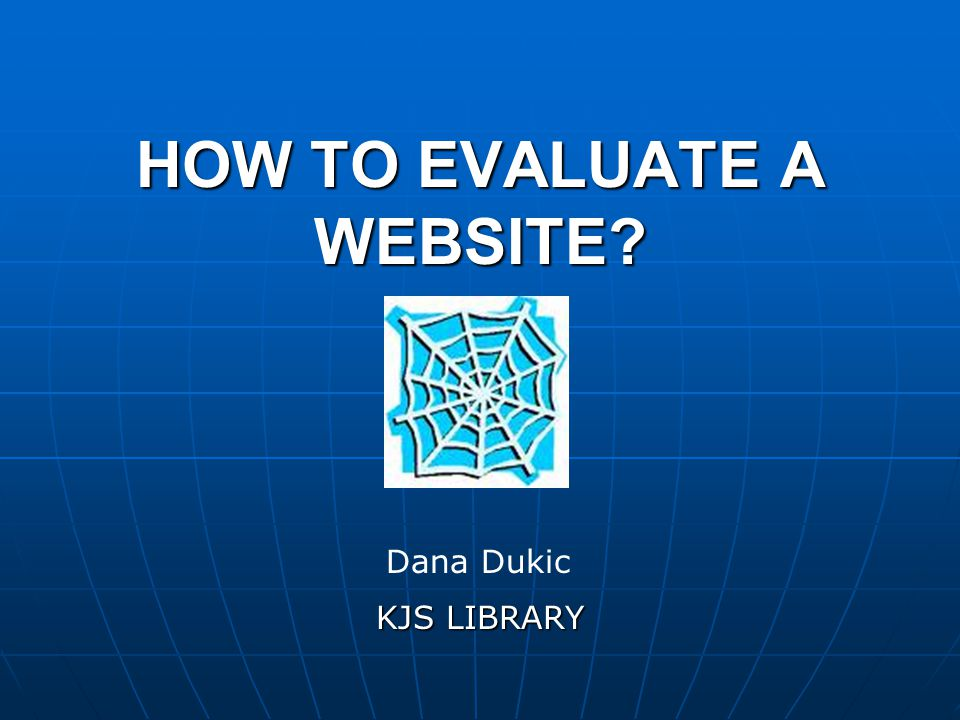 HOW TO FIND A GOOD WEBSITE.