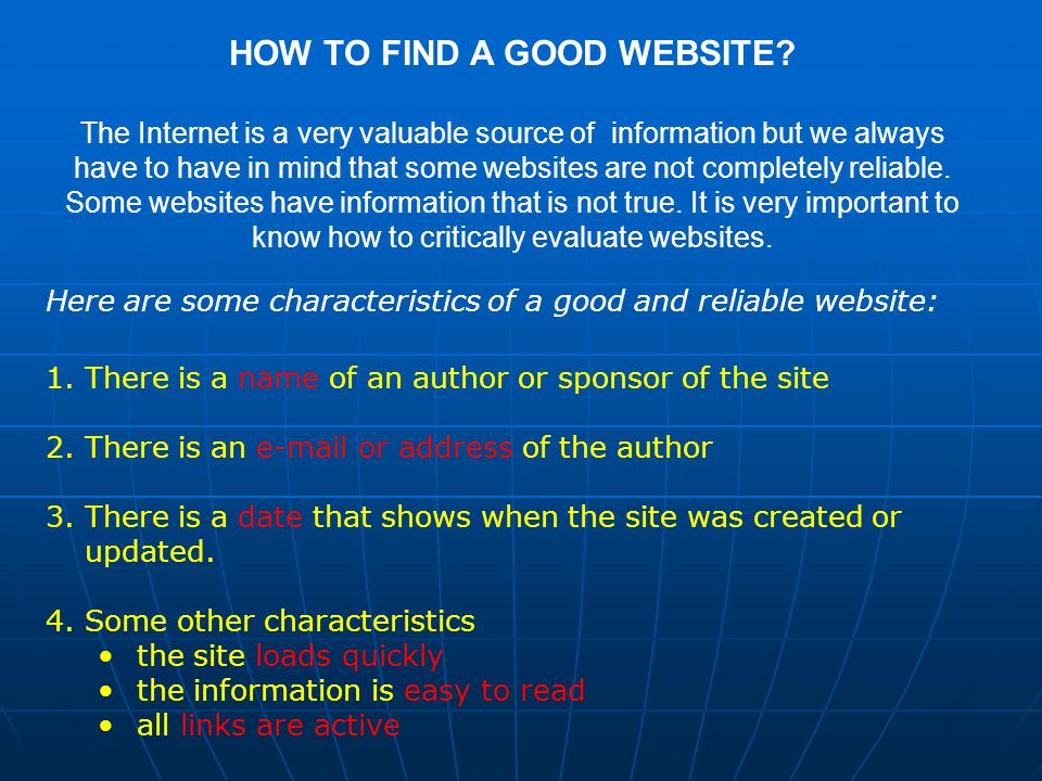 It is very useful to check the website DOMAIN name.