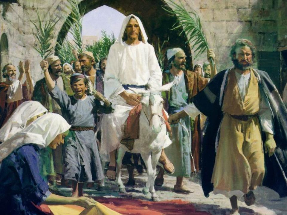 How is Palm Sunday celebrated.