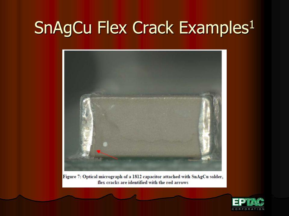 SnAgCu Flex Crack Examples 1