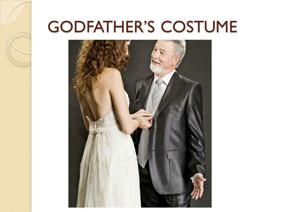 GODFATHER'S COSTUME