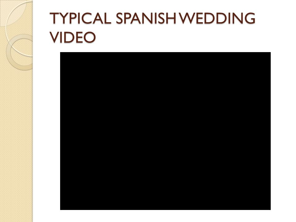 TYPICAL SPANISH WEDDING VIDEO