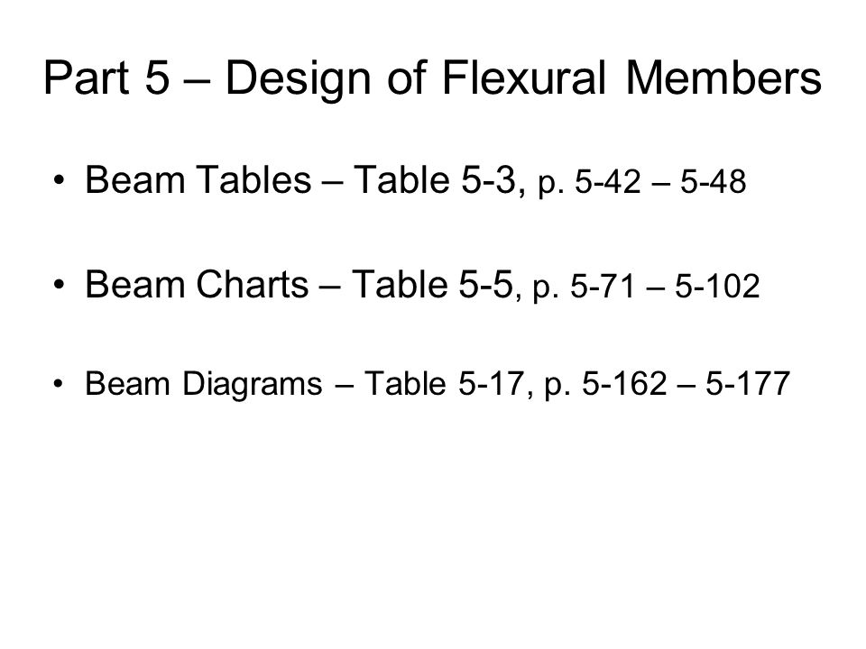 Flexural Design Example p.
