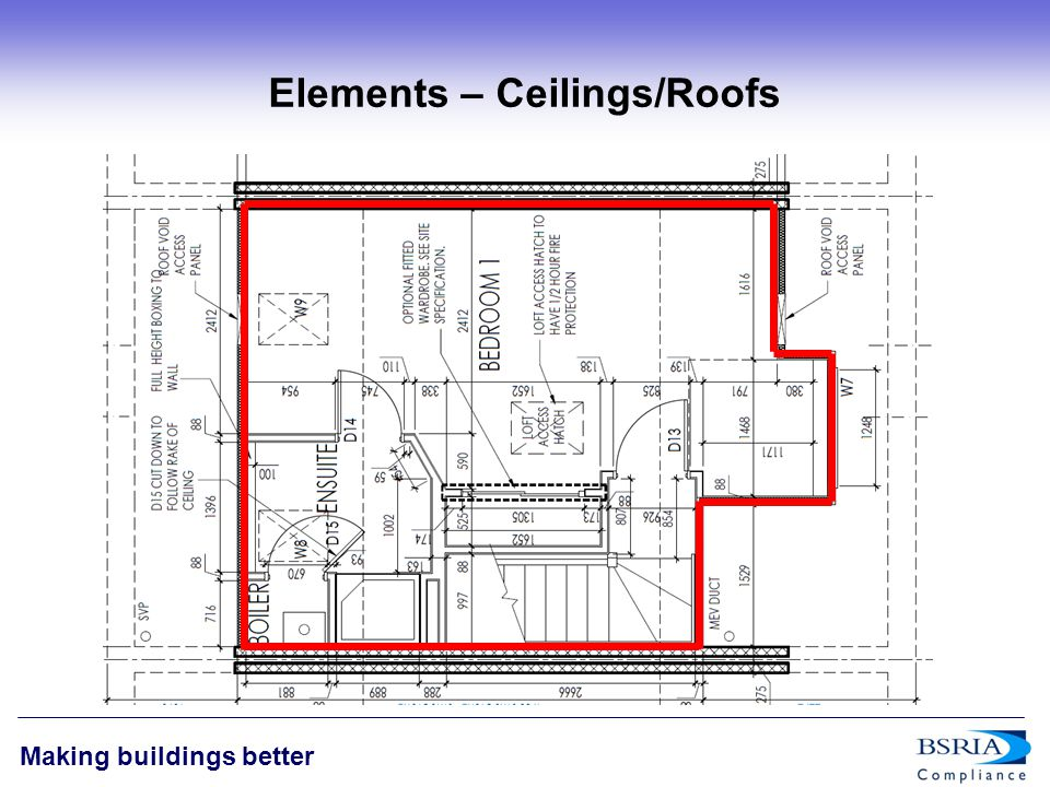 12 Making buildings better Elements – Ceilings/Roofs