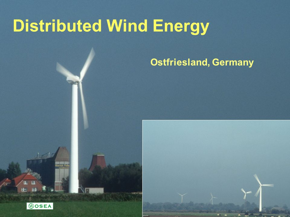 Distributed Wind Energy Ostfriesland, Germany