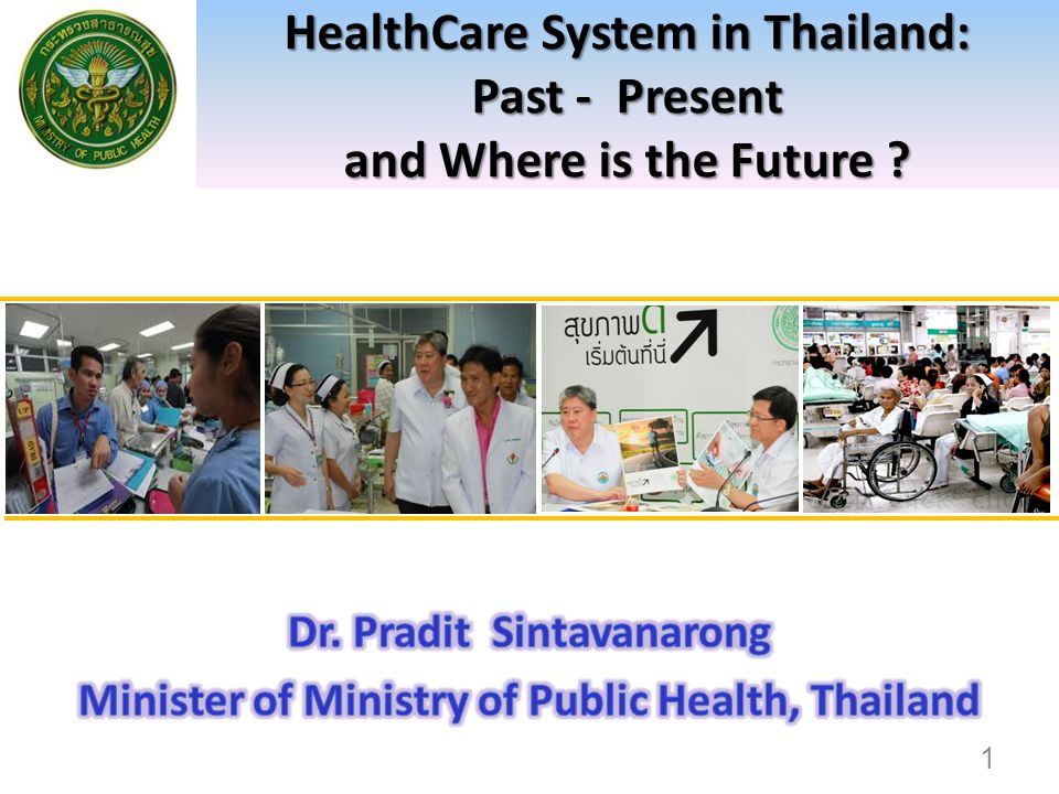 Policies response to increase demand for healthcare of Non-Thais At the border; Supporting capacity building of health facilities in nearby countries at border areas Supporting governments of neighborhood countries in moving towards UHC Providing health protection to Non-Thais and generate additional source of finance by compulsory contributory insurance Migrant workers and dependents Foreign visitors 62