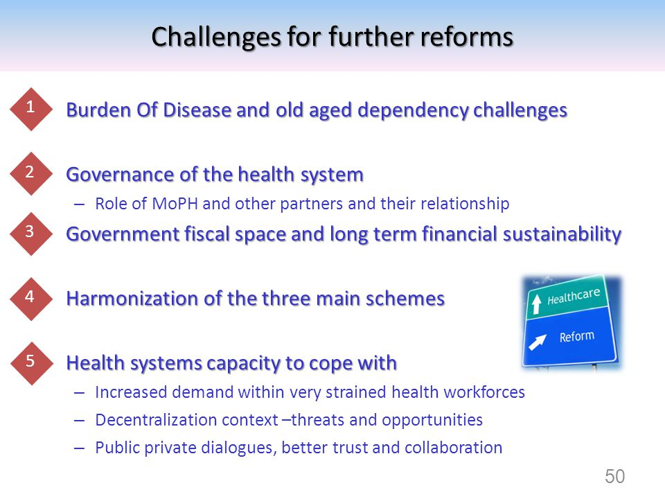 Burden Of Disease and old aged dependency challenges Burden Of Disease and old aged dependency challenges Governance of the health system Governance o
