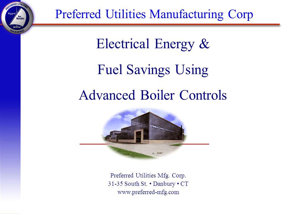Introduction q Introduction q Fuel Savings n Stack Losses q Electrical Savings n Fan Basics n Fan and System Curves n VFD Basics q Savings Summary