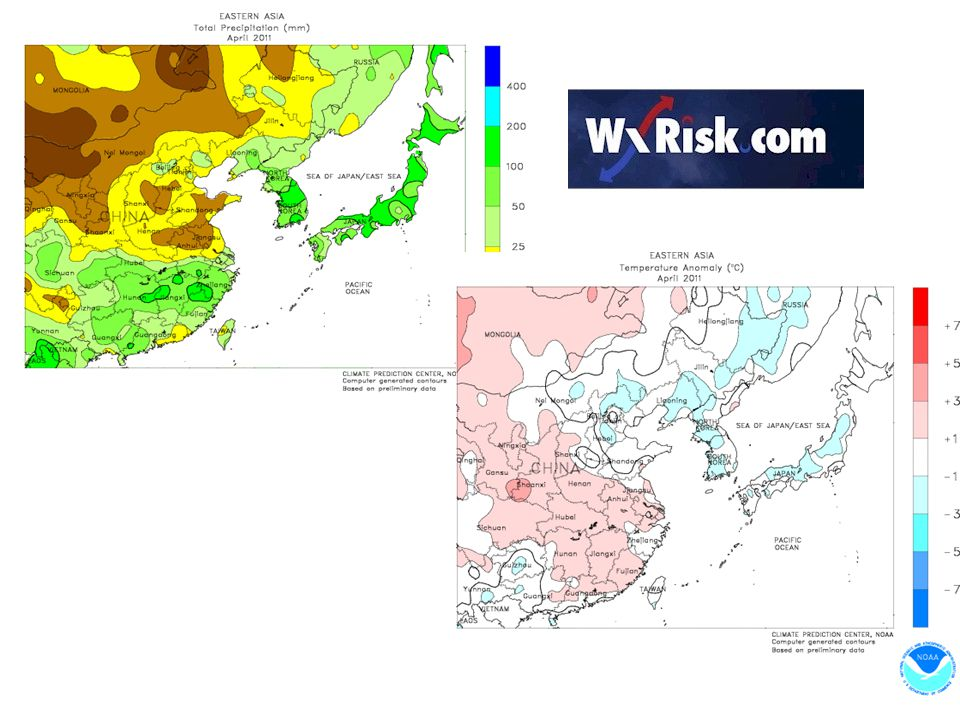 SOIL MOSITURE ANONAMLIES FOR THE PAST 30 DAYS WXRISK.COM gets raw data from CHINA...