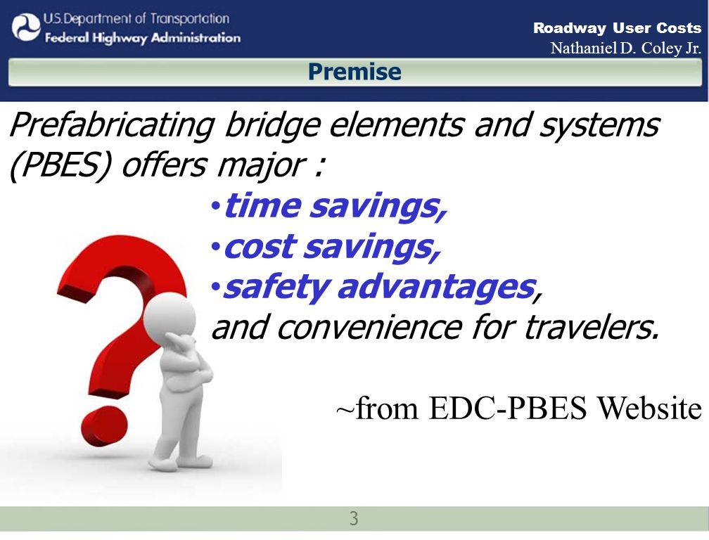 14 Roadway User Costs Nathaniel D.Coley Jr.