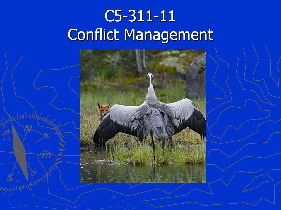 C5-311-11 Conflict Management
