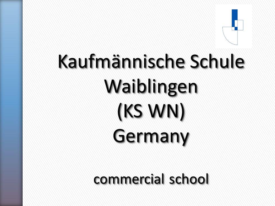 Kaufmännische Schule Waiblingen (KS WN) Germany commercial school Kaufmännische Schule Waiblingen (KS WN) Germany commercial school