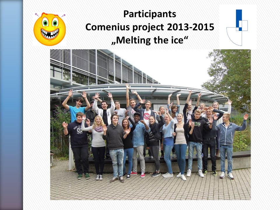 "Participants Comenius project ""Melting the ice"