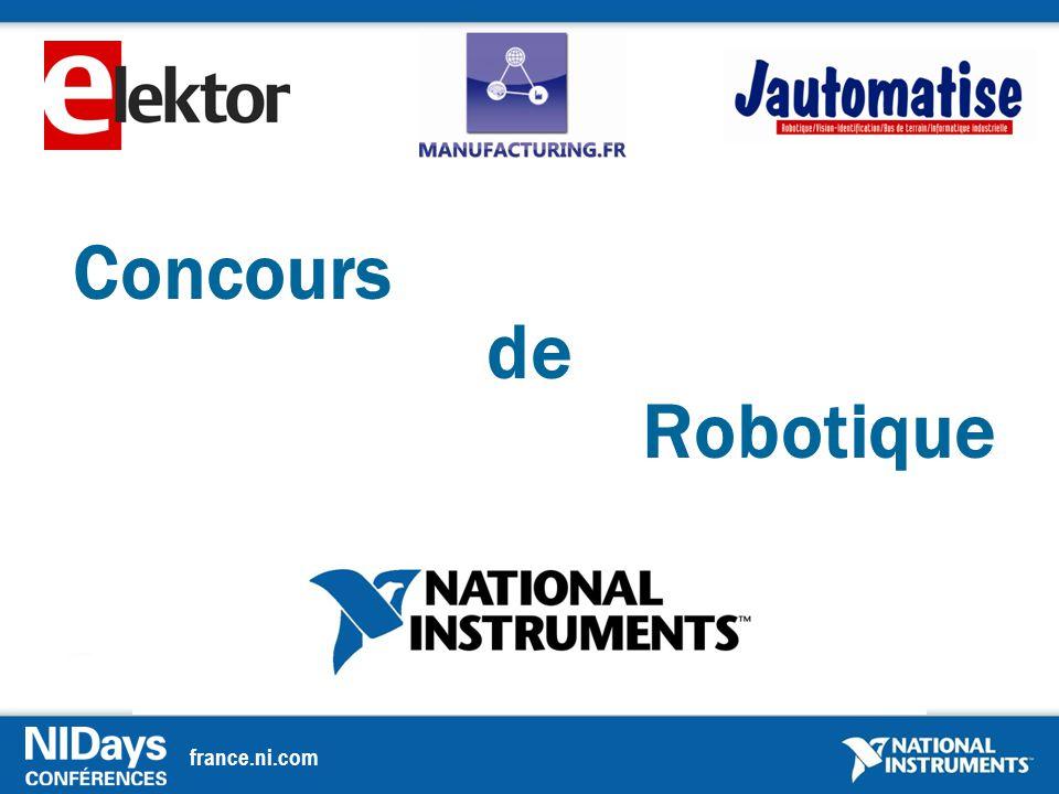 france.ni.com Concours de Robotique