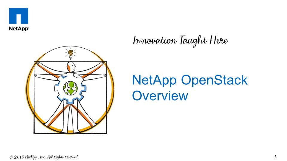 3 NetApp OpenStack Overview