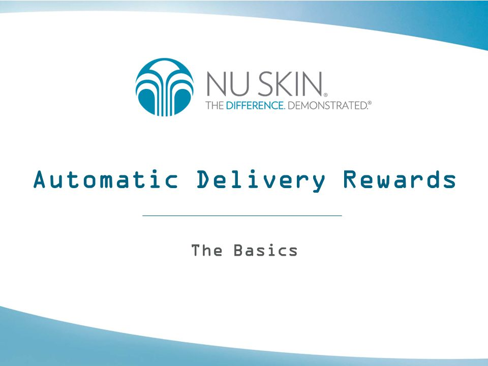 Automatic Delivery Rewards The Basics