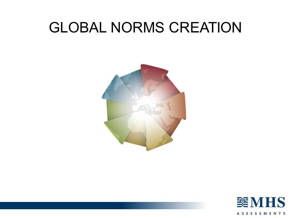 GLOBAL NORMS CREATION