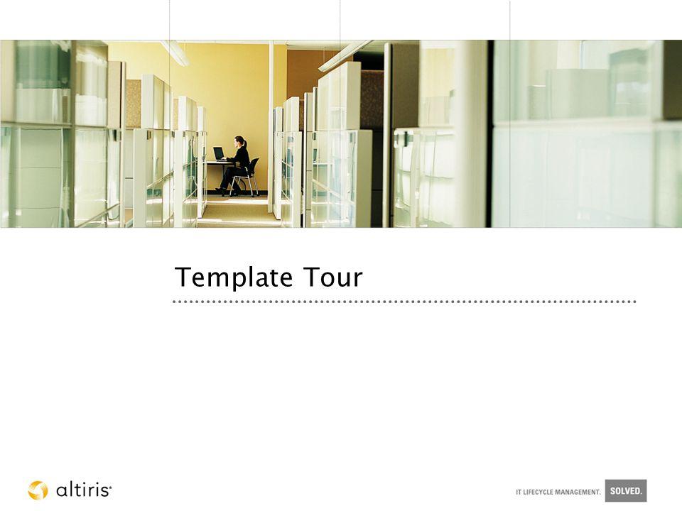 Template Tour