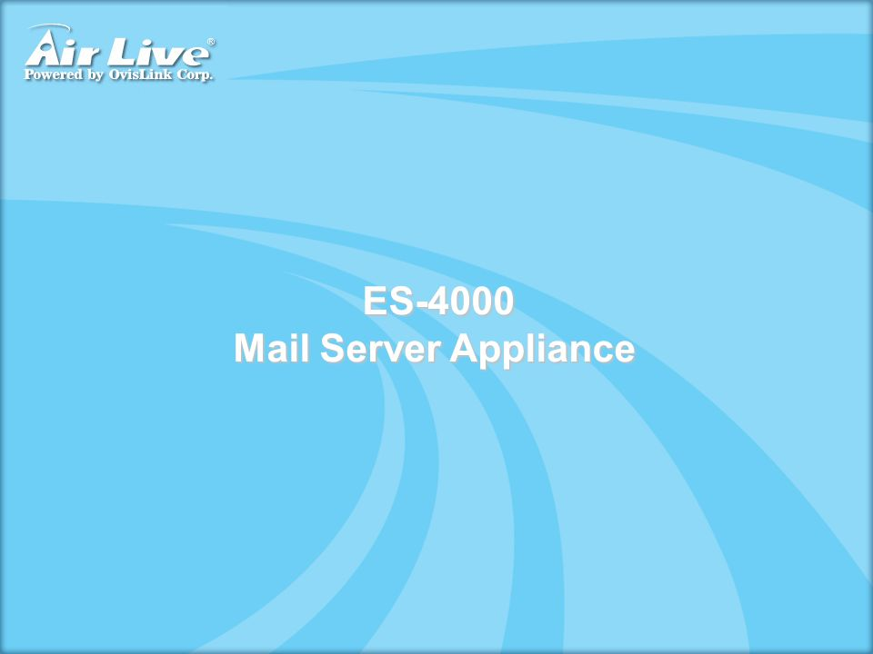 ES-4000 Mail Server Appliance
