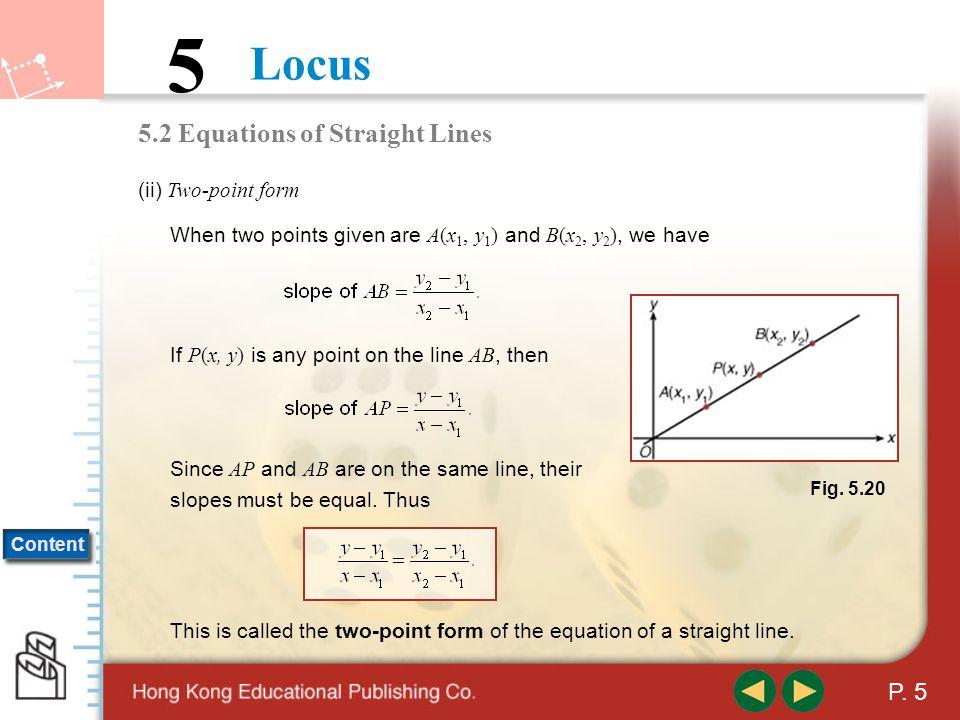 Locus 5 Content P.