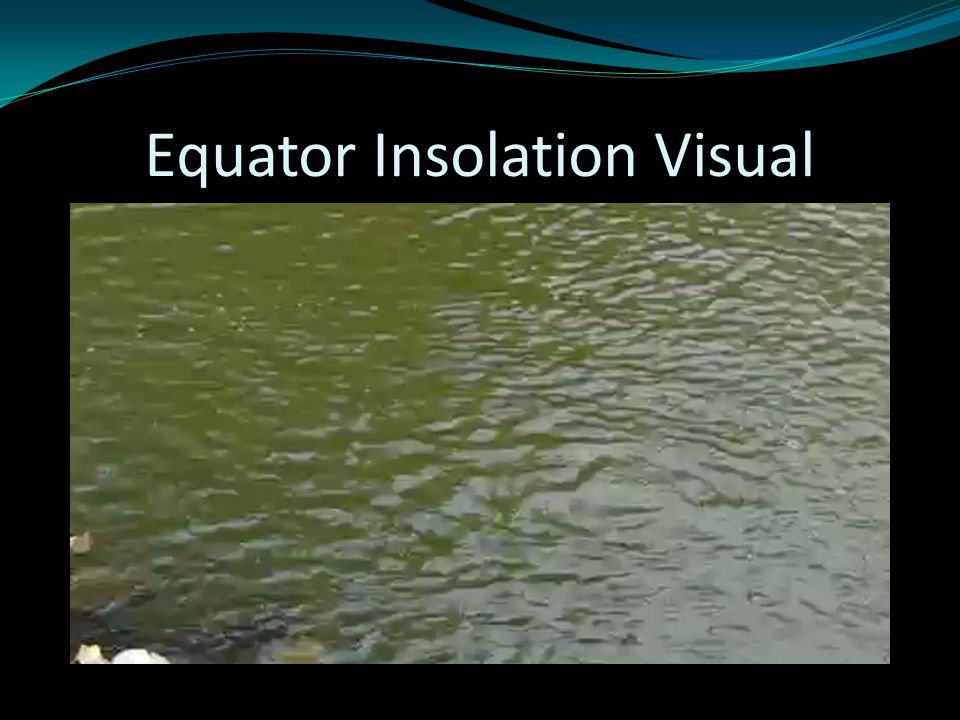 Equator Insolation Visual