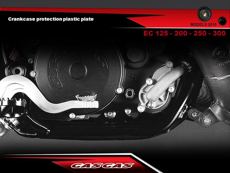 Crankcase protection plastic plate EC 125 - 200 - 250 - 300 MODELS 2010