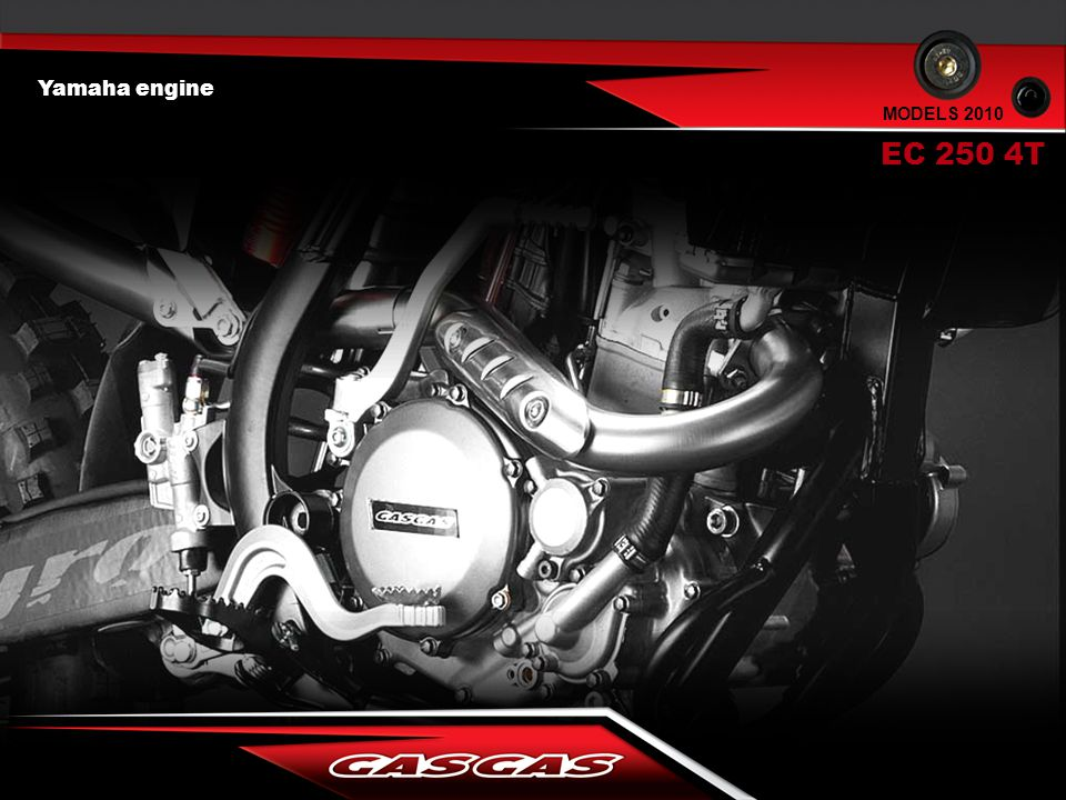 Yamaha engine EC 250 4T MODELS 2010