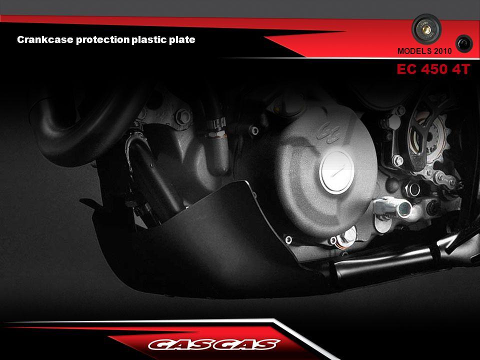 EC 450 4T MODELS 2010 Crankcase protection plastic plate