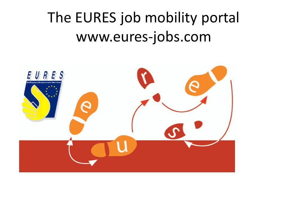 The EURES job mobility portal www.eures-jobs.com