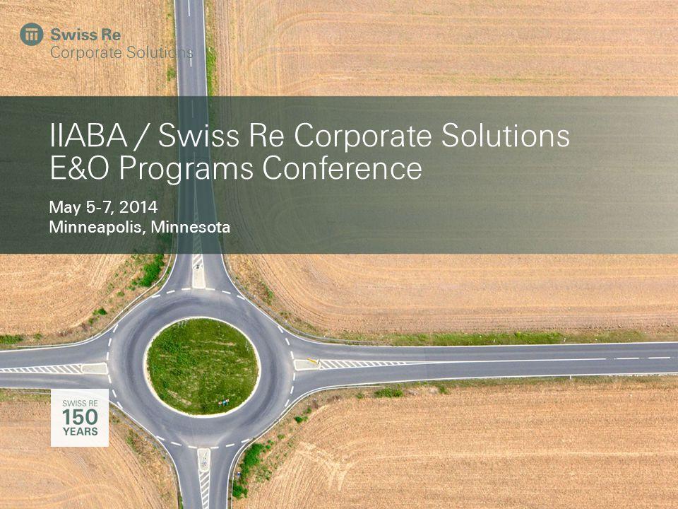 2 IIABA / Swiss Re Corporate Solutions E&O Programs Conference Tuesday, May 6 2 TimeEventWho 7:30 a.m.Breakfast Opens - Served until 8:30 am 8:00 – 8:30 a.m.Open/Program Updates (30 min.)Sabrena Sally 8:30 – 9:00 a.m.FSIC Updates (30 min.)Stewart Brettingen 9:00 – 9:25 a.m.Actuarial Updates (25 min.)John Owens, Michelle Li 9:25 – 9:45 a.m.Jupiter/CI BIZ Updates (20 min.)Wayne Merrill 9:45 – 10:00 a.m.Coffee Break (15 min.) 10:00 – 10:45 a.m.Disaster Recovery Planning for Administrators (45 min.)Linda Linhoff 10:45 – 11:05 a.m.Audit Updates (20 min.)Jon Mallo 11:05 – 11:20 a.m.To Be Announced (15 min.) 11:20 – 11:30 a.m.Stretch Break (10 min.) 11:30 – 12:15 p.m.Affordable Healthcare Updates (45 min.)Annette Hollingsworth 12:15 – 12:30 p.m.Q & A (15 min.)Sabrena Sally