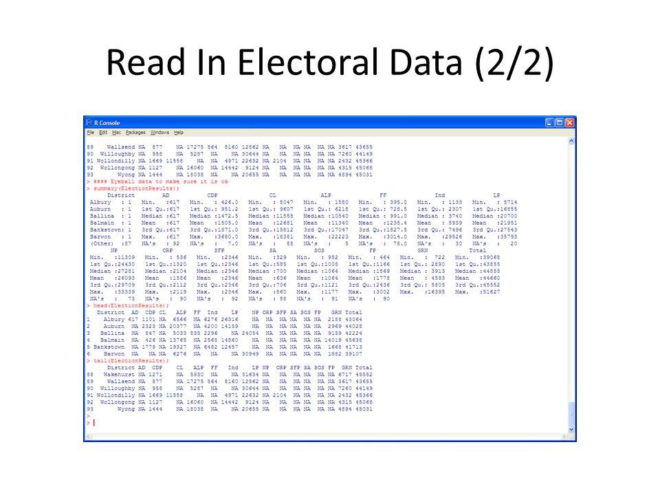 Read In Electoral Data (2/2)