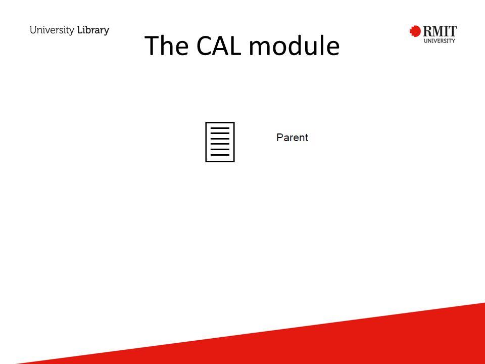 The CAL module
