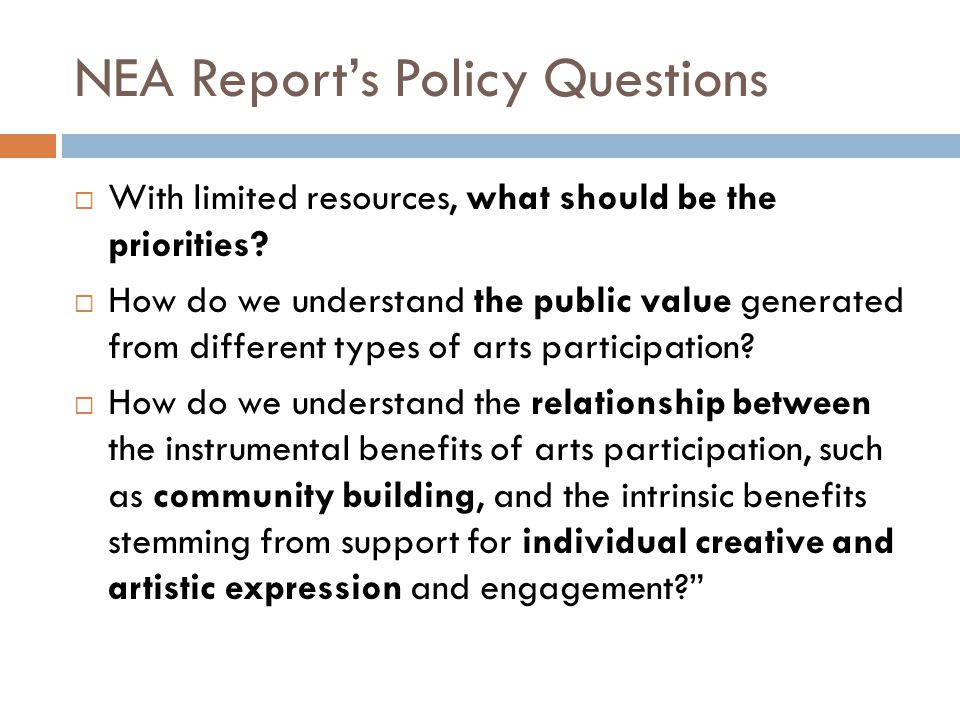 RIF Goal & Desired Outcome Stimulate a sector-wide commitment to audience development, and state-wide support for greater access to quality arts/culture experiences for all Rhode Islanders.