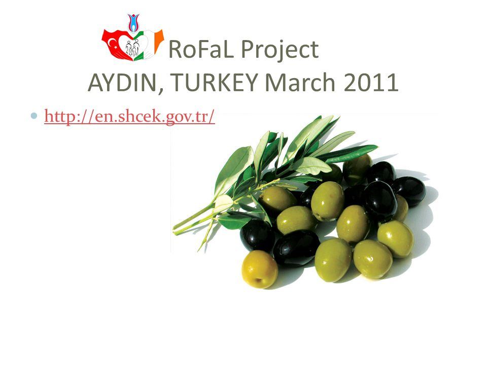 RoFaL Project A seminar organized by Adnan Menderes University & Kemer Community Center