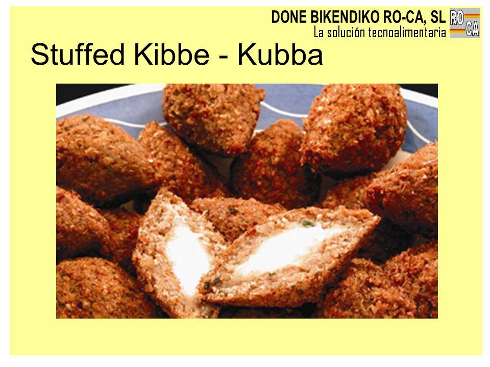Stuffed Kibbe - Kubba