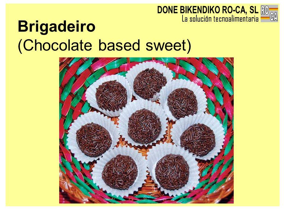 Brigadeiro (Chocolate based sweet)