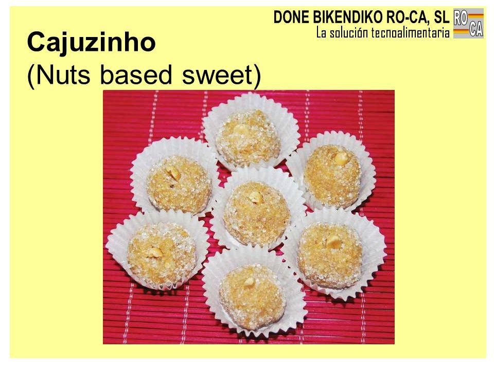 Cajuzinho (Nuts based sweet)