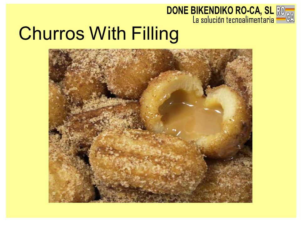 Churros With Filling