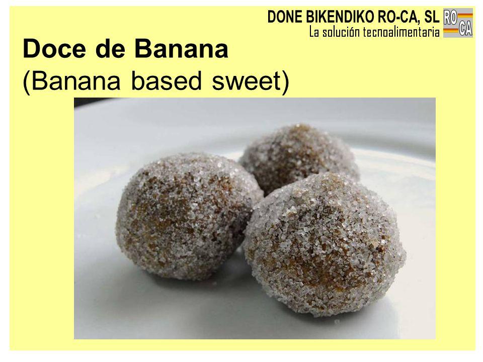 Doce de Banana (Banana based sweet)