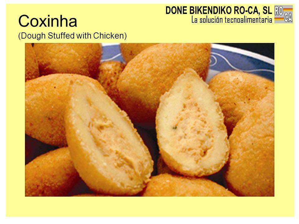 Coxinha (Dough Stuffed with Chicken)
